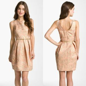 Eliza J Cotton Jacquard Tulip Dress SIZE 12